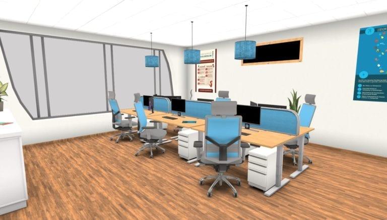Showroom Büro